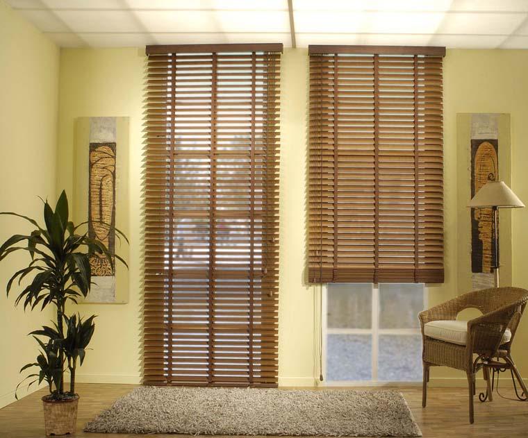 Cortinas de madera enrollables cheap cortinas romanas - Cortinas de madera ...